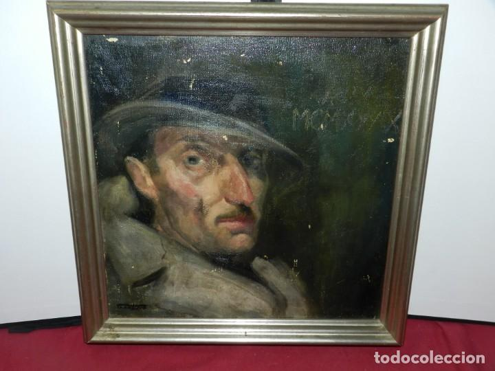 (M) ÓLEO DE CASIMIR MARTINEZ TARRASSÓ 1939 RETRATO DE FEDERICO BELTRAN MASSES (Arte - Pintura - Pintura al Óleo Contemporánea )