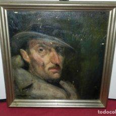 Arte: (M) ÓLEO DE CASIMIR MARTINEZ TARRASSÓ 1939 RETRATO DE FEDERICO BELTRAN MASSES. Lote 170922725