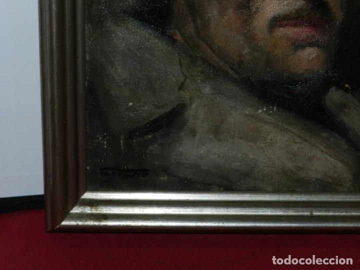 Arte: (M) Óleo de Casimir Martinez Tarrassó 1939 Retrato de Federico Beltran Masses - Foto 12 - 170922725