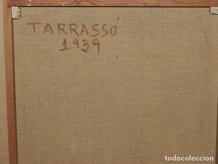 Arte: (M) Óleo de Casimir Martinez Tarrassó 1939 Retrato de Federico Beltran Masses - Foto 14 - 170922725