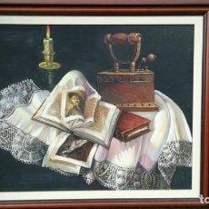 Arte: BONITO CUADRO AL ÓLEO. Lote 170978664