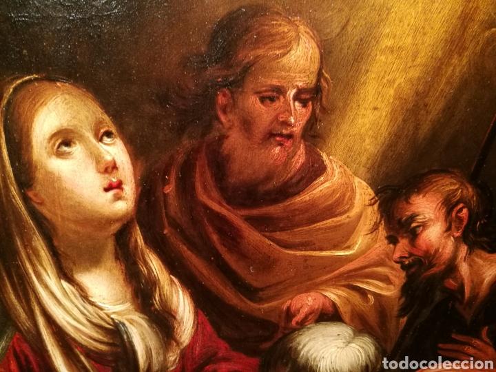 Arte: LA ADORACIÓN DE LOS PASTORES. CÍRCULO DE JUAN DE VALDÉS LEAL (1622-90) - Foto 3 - 171043107