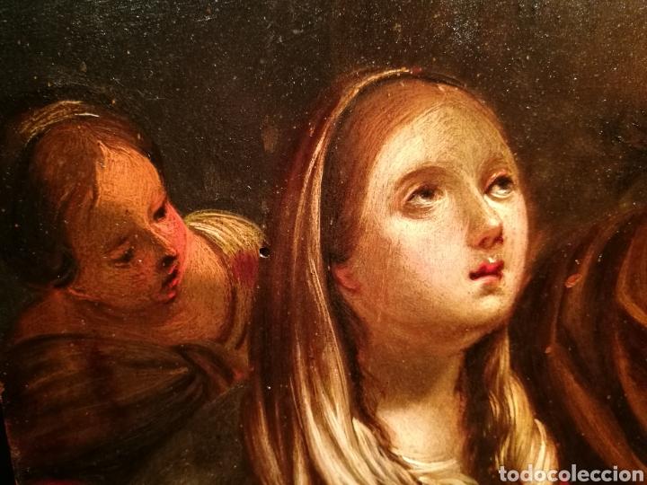 Arte: LA ADORACIÓN DE LOS PASTORES. CÍRCULO DE JUAN DE VALDÉS LEAL (1622-90) - Foto 5 - 171043107
