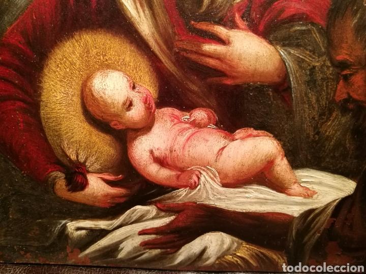 Arte: LA ADORACIÓN DE LOS PASTORES. CÍRCULO DE JUAN DE VALDÉS LEAL (1622-90) - Foto 6 - 171043107