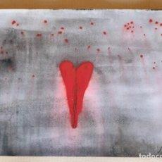 Arte: PAPEL GRUESO. TÍTULO: ROTO. FIRMADO POR EL ARTISTA PLÁSTICO JESUS BEELE. 2012.. Lote 171058587