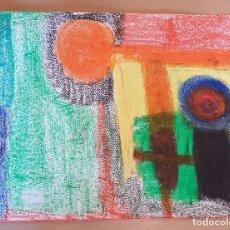 Arte: PAPEL GRUESO. TÍTULO: QUIJOTESCO. FIRMADO POR EL ARTISTA PLÁSTICO J. BEELE. 2012.. Lote 171059213