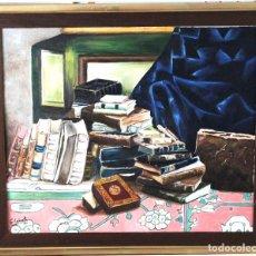 Arte: LIBROS VIEJOS OBRA DE GILABERTE INCLUYO MARCO . Lote 171063973