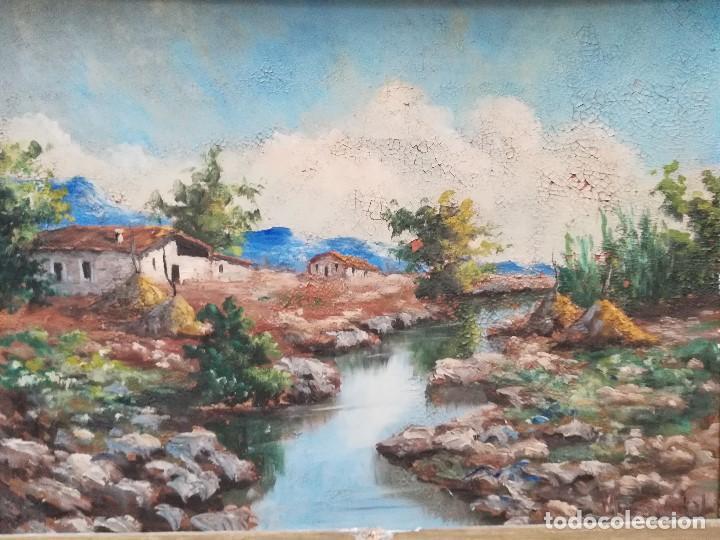 Arte: Paisaje, firmado por M.Vidal - Foto 2 - 171106234