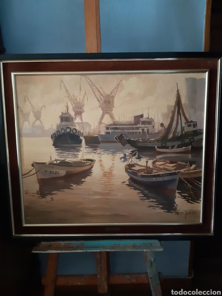 Arte: Pintura Juan Pardo Forteza hecha en pan de oro - Foto 3 - 171115608