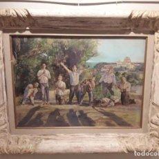Arte: FUENTETAJA- BOCETO ORIGINAL- UNICO- LOS MARTIRES DE CALAFELL. Lote 171163958