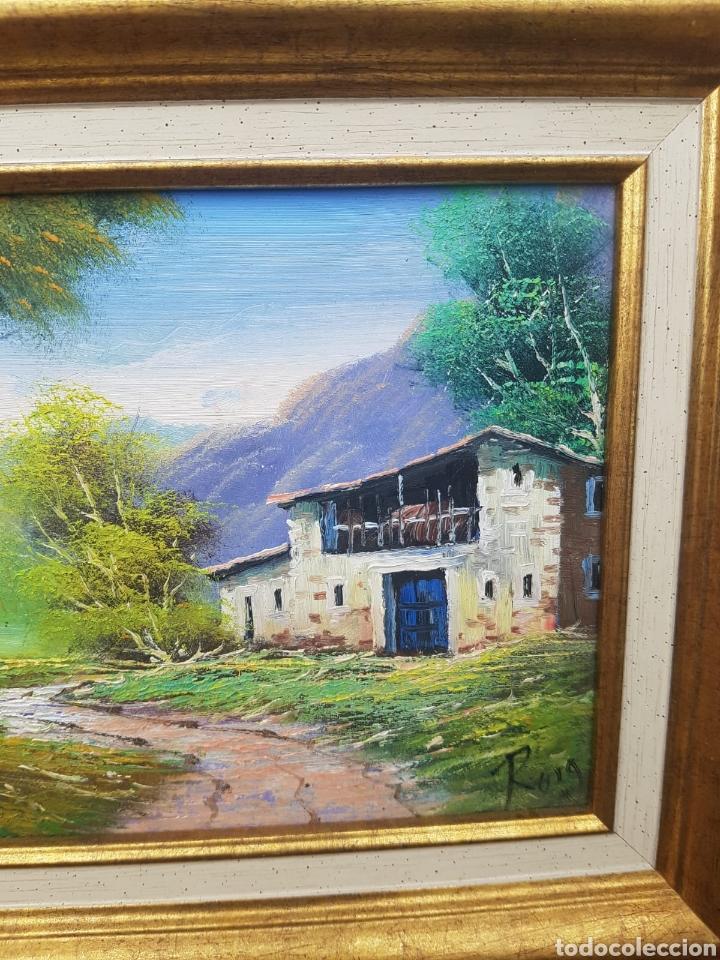 Arte: Cuadro oleo sobre lienzo firmado Roig - Foto 2 - 171241397