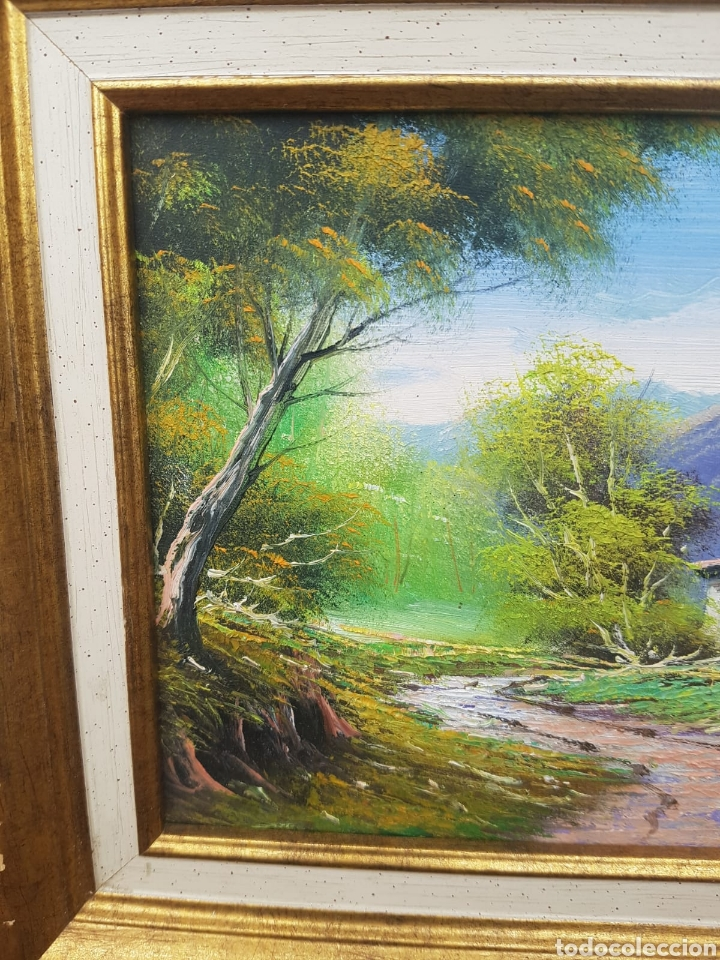 Arte: Cuadro oleo sobre lienzo firmado Roig - Foto 3 - 171241397