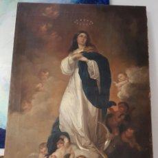 Arte: OBRA DE ARTE. CUADRO, SIGLO XIX, CUADRO DE LA INMACULADA CONCEPCIÓN, 140X94CM. Lote 171305452