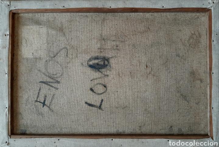 Arte: Anónimo . Casa en el valle ( Escuela Inglesa ) - Foto 4 - 171407273