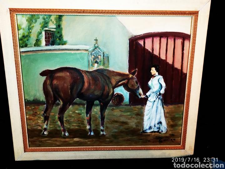 Arte: CUADRO JOSEP GUILLEN CATALA OLEO SOBRE LIENZO SOBRE TABLA VINTAGE ANTIGUO - Foto 2 - 171464899