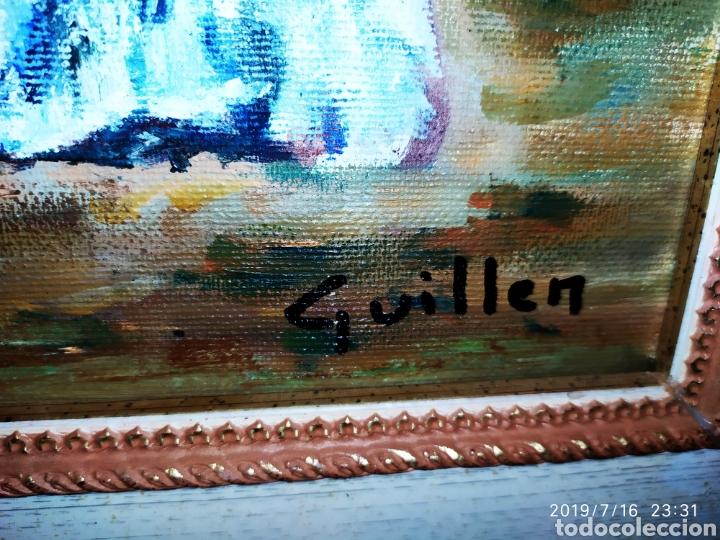 Arte: CUADRO JOSEP GUILLEN CATALA OLEO SOBRE LIENZO SOBRE TABLA VINTAGE ANTIGUO - Foto 3 - 171464899