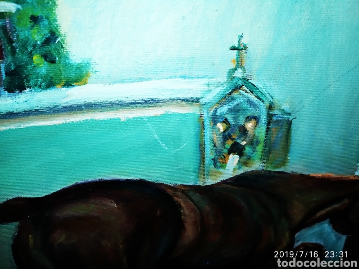 Arte: CUADRO JOSEP GUILLEN CATALA OLEO SOBRE LIENZO SOBRE TABLA VINTAGE ANTIGUO - Foto 6 - 171464899