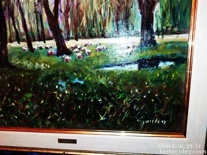 Arte: CUADRO JOSEP GUILLEN CATALA OLEO SOBRE LIENZO SOBRE TABLA VINTAGE ANTIGUO - Foto 2 - 171464970