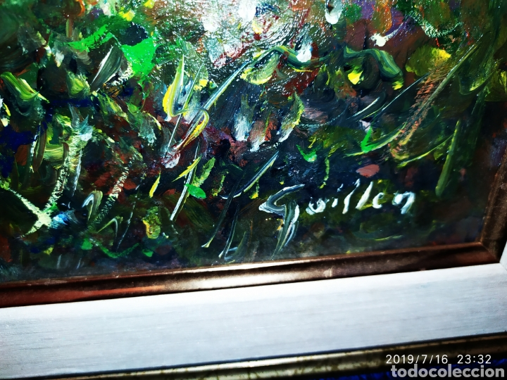Arte: CUADRO JOSEP GUILLEN CATALA OLEO SOBRE LIENZO SOBRE TABLA VINTAGE ANTIGUO - Foto 3 - 171464970