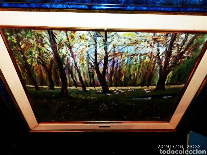 Arte: CUADRO JOSEP GUILLEN CATALA OLEO SOBRE LIENZO SOBRE TABLA VINTAGE ANTIGUO - Foto 5 - 171464970