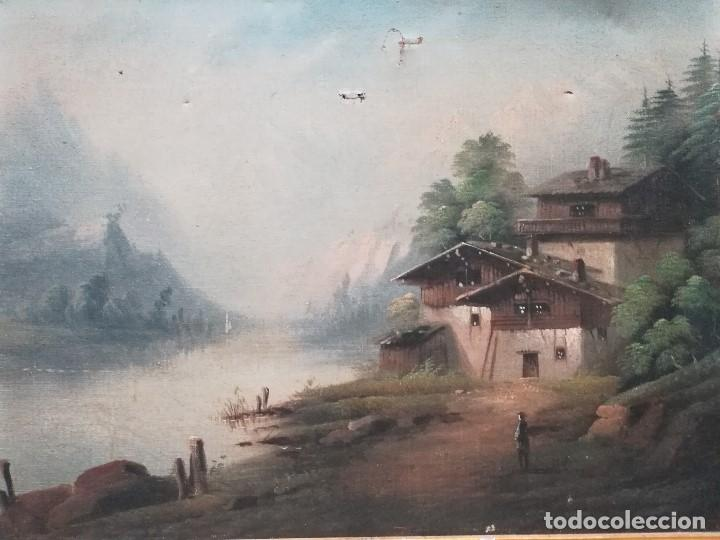 PAISAJE (Arte - Pintura - Pintura al Óleo Moderna siglo XIX)