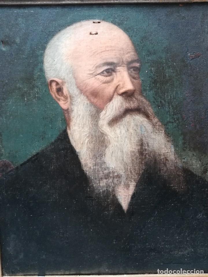 Arte: Retrato de señor con barba - Foto 2 - 171497484
