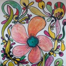 Arte: ABSTRACTO SOBRE CARTULINA ( SIN MARCO ) Nº 4. Lote 171569632