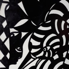 Arte: ABSTRACTO SOBRE CARTULINA ( SIN MARCO ) Nº 11. Lote 171575707