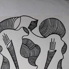 Arte: ABSTRACTO SOBRE CARTULINA ( SIN MARCO ) Nº 9. Lote 171576068
