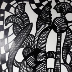 Arte: ABSTRACTO SOBRE CARTULINA ( SIN MARCO ) Nº 8. Lote 171576197
