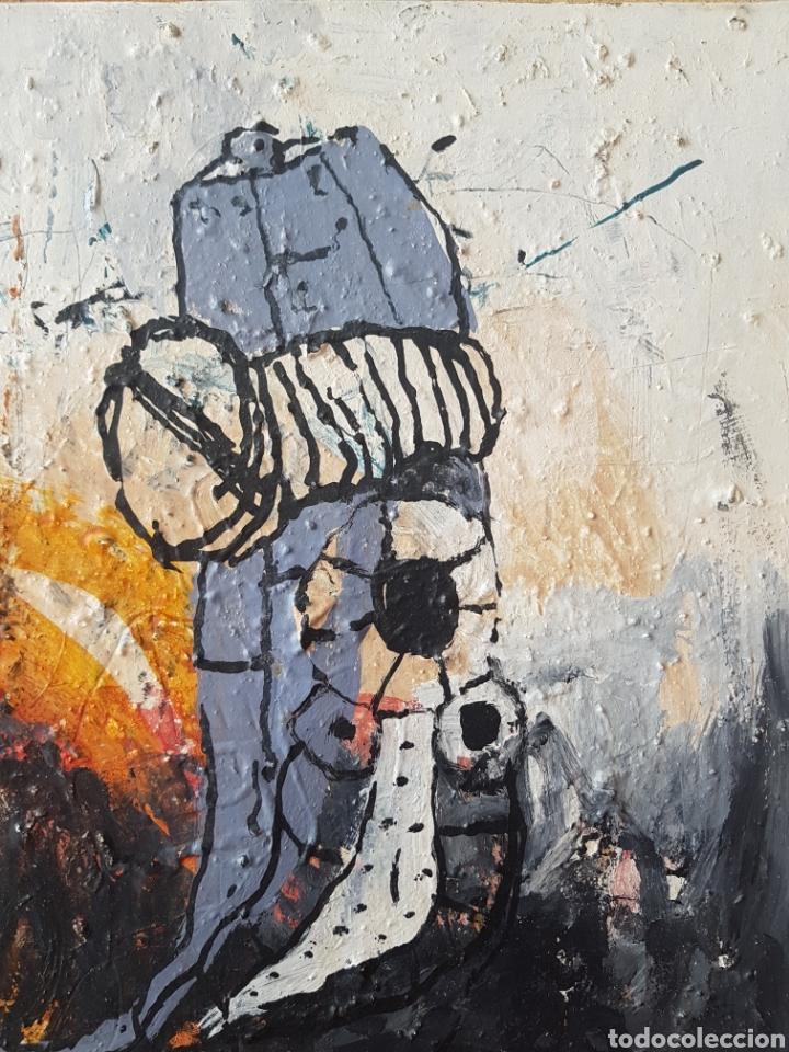Arte: Ignasi Deulofeu (Ignot) - 2 oleos/tela.Abstracto.Firmados. - Foto 2 - 148549116
