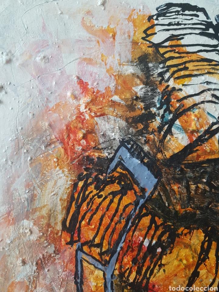 Arte: Ignasi Deulofeu (Ignot) - 2 oleos/tela.Abstracto.Firmados. - Foto 3 - 148549116