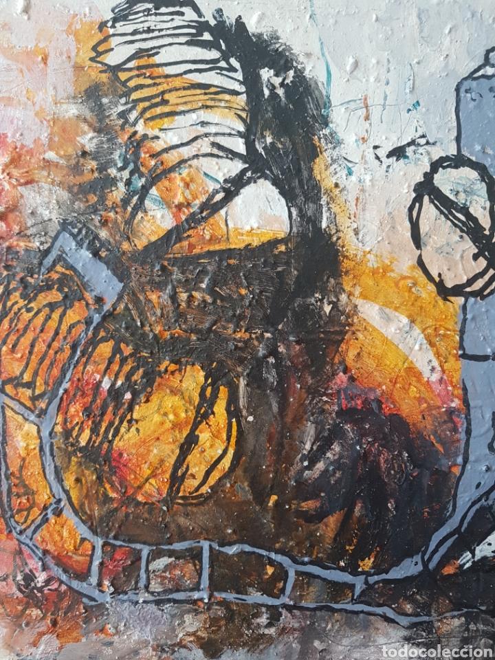 Arte: Ignasi Deulofeu (Ignot) - 2 oleos/tela.Abstracto.Firmados. - Foto 4 - 148549116