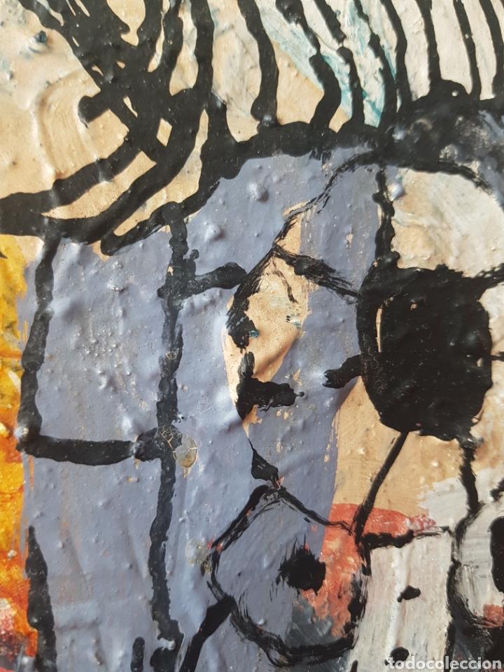 Arte: Ignasi Deulofeu (Ignot) - 2 oleos/tela.Abstracto.Firmados. - Foto 5 - 148549116
