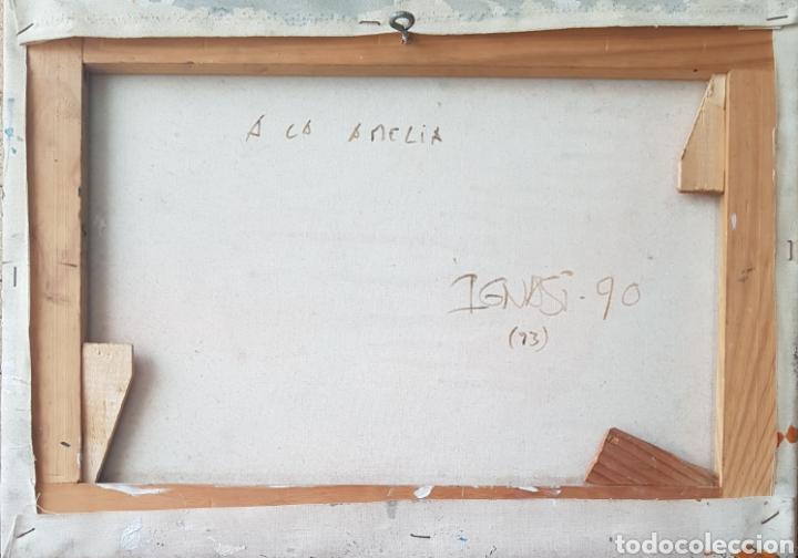 Arte: Ignasi Deulofeu (Ignot) - 2 oleos/tela.Abstracto.Firmados. - Foto 7 - 148549116
