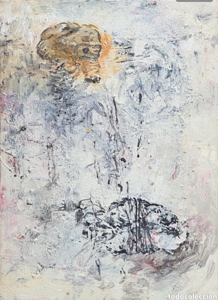 Arte: Ignasi Deulofeu (Ignot) - 2 oleos/tela.Abstracto.Firmados. - Foto 8 - 148549116