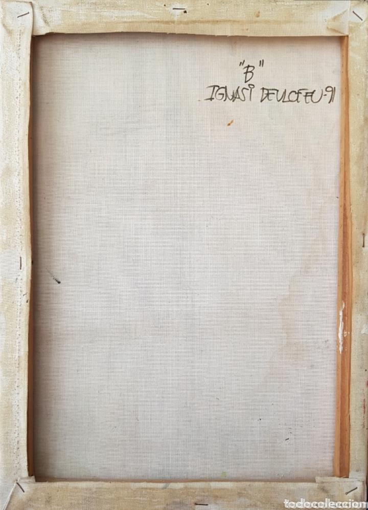 Arte: Ignasi Deulofeu (Ignot) - 2 oleos/tela.Abstracto.Firmados. - Foto 12 - 148549116