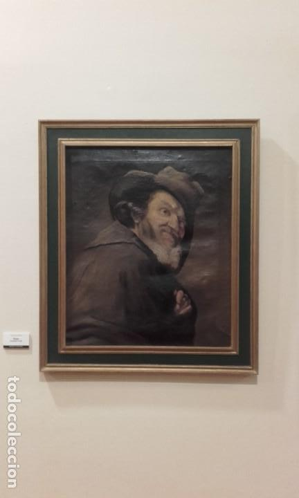 ANTIGUA COPIA DE MENIPO / VELÁZQUEZ (Arte - Pintura - Pintura al Óleo Antigua sin fecha definida)