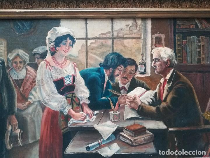 Arte: Notaria, firmado por Quijada - Foto 2 - 171663819