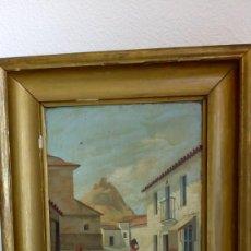 Arte: OLEO SOBRE TABLA DE JUAN DE MONTIS. Lote 171704092