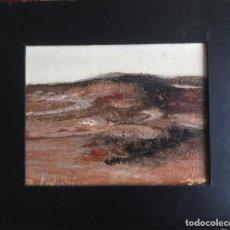 Arte: PINTURA ÓLEO SOBRE TABLA DE FELIX ADELANTADO ZARAGOZA 1911-2001. Lote 171816584