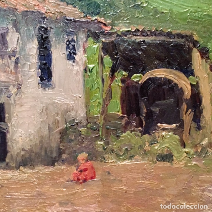 Arte: Paisaje asturiano por Emilio Gª Martínez (Madrid 1875-1950) fechado en 1916 - Foto 5 - 171963724