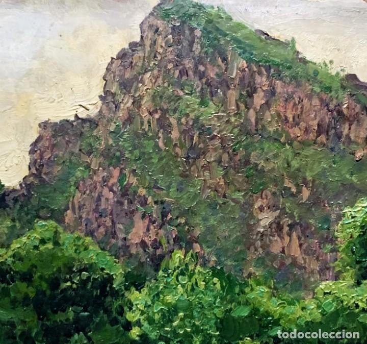 Arte: Paisaje asturiano por Emilio Gª Martínez (Madrid 1875-1950) fechado en 1916 - Foto 6 - 171963724