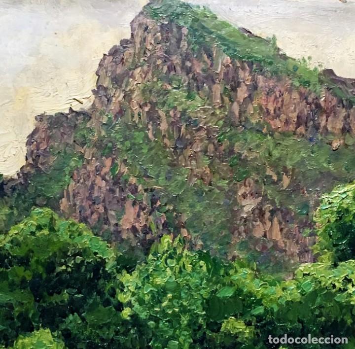 Arte: Paisaje asturiano por Emilio Gª Martínez (Madrid 1875-1950) fechado en 1916 - Foto 7 - 171963724