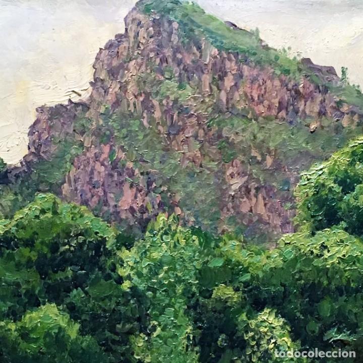 Arte: Paisaje asturiano por Emilio Gª Martínez (Madrid 1875-1950) fechado en 1916 - Foto 11 - 171963724