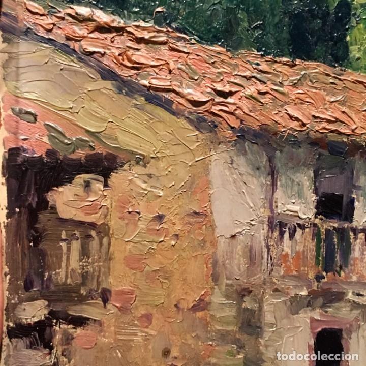 Arte: Paisaje asturiano por Emilio Gª Martínez (Madrid 1875-1950) fechado en 1916 - Foto 14 - 171963724