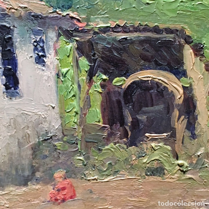 Arte: Paisaje asturiano por Emilio Gª Martínez (Madrid 1875-1950) fechado en 1916 - Foto 12 - 171963724