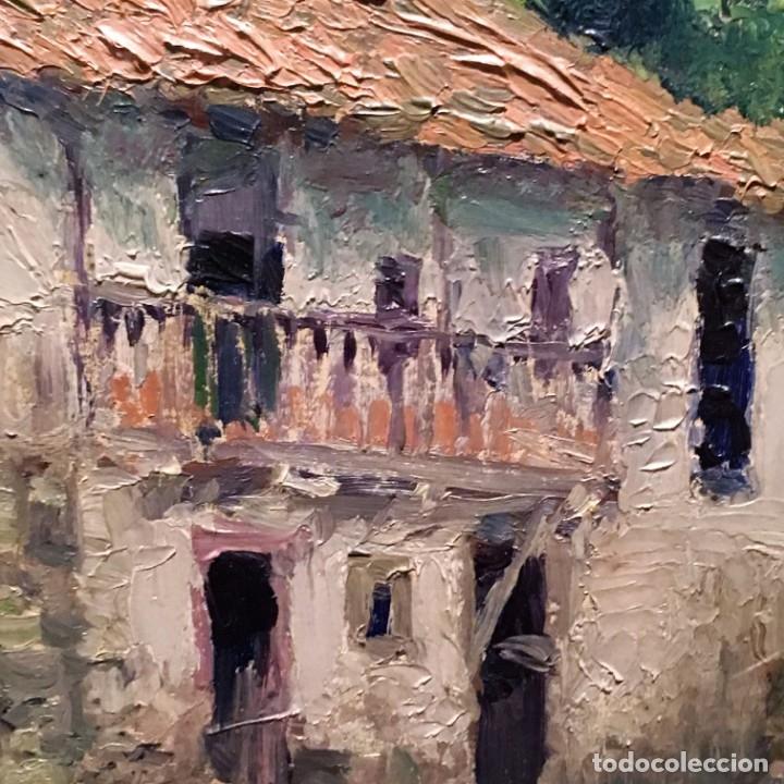 Arte: Paisaje asturiano por Emilio Gª Martínez (Madrid 1875-1950) fechado en 1916 - Foto 13 - 171963724