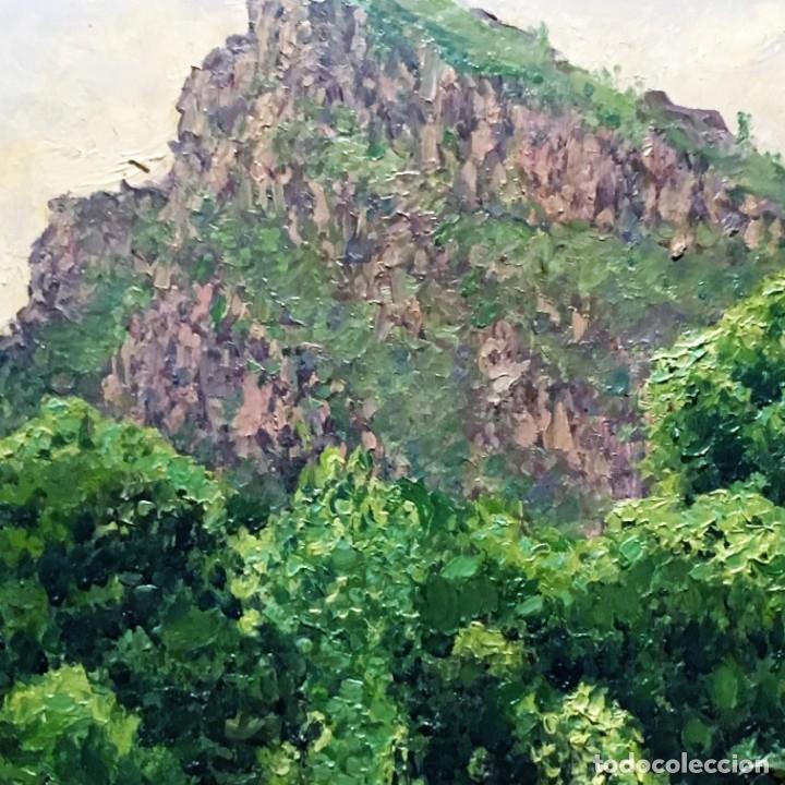 Arte: Paisaje asturiano por Emilio Gª Martínez (Madrid 1875-1950) fechado en 1916 - Foto 16 - 171963724