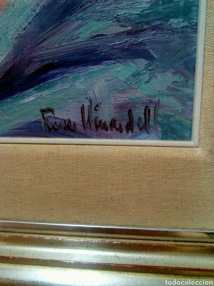 Arte: Oleo sobre lienzo desnudo femenino firmado Roser Vinardell - Foto 6 - 171991428